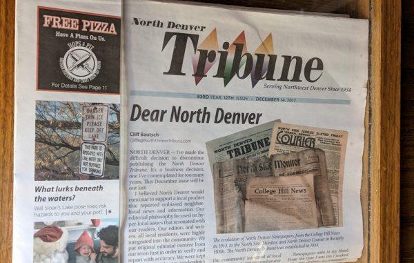 tribune front page