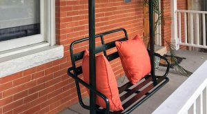 hanging chairlift bench