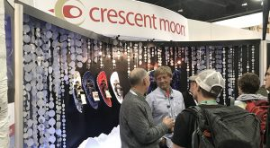 crescent moon booth