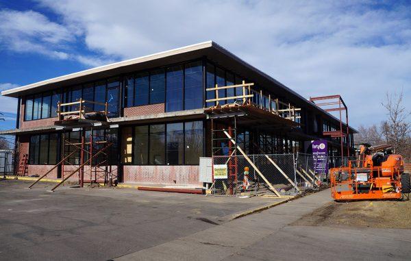 Catholic Charities building construction