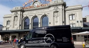 mountain grit van