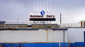 robinson dairy sign