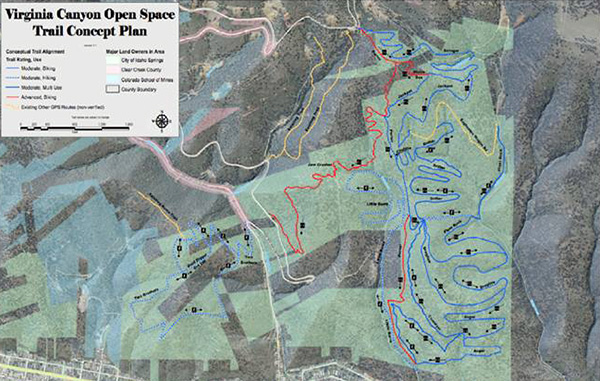 Idaho Springs receives grant to plan hillside trails - BusinessDen on brookfield trail map, itasca trail map, matteson trail map, oak forest trail map, riverdale trail map, lincoln park trail map, kirkland trail map, temelpa trail map, deerfield trail map, berkeley trail map, florence trail map, plainfield trail map, barnegat trail map, highland trail map, garfield trail map, crystal lake trail map, glenwood trail map, cook county trail map, palos hills trail map, jefferson trail map,