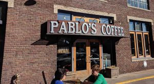pablos coffee storefront