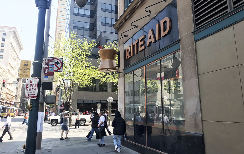 Rite Aid Closing On 16th Street Mall