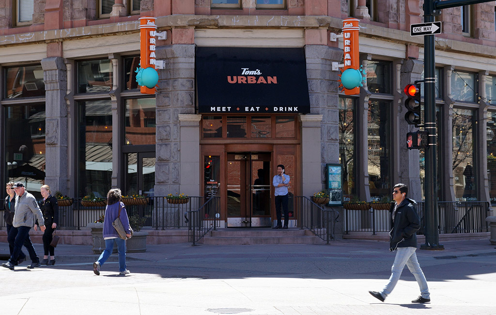 Tomu0027s Urban Is Located At 1460 Larimer St. In Denver. (Thomas Gounley)