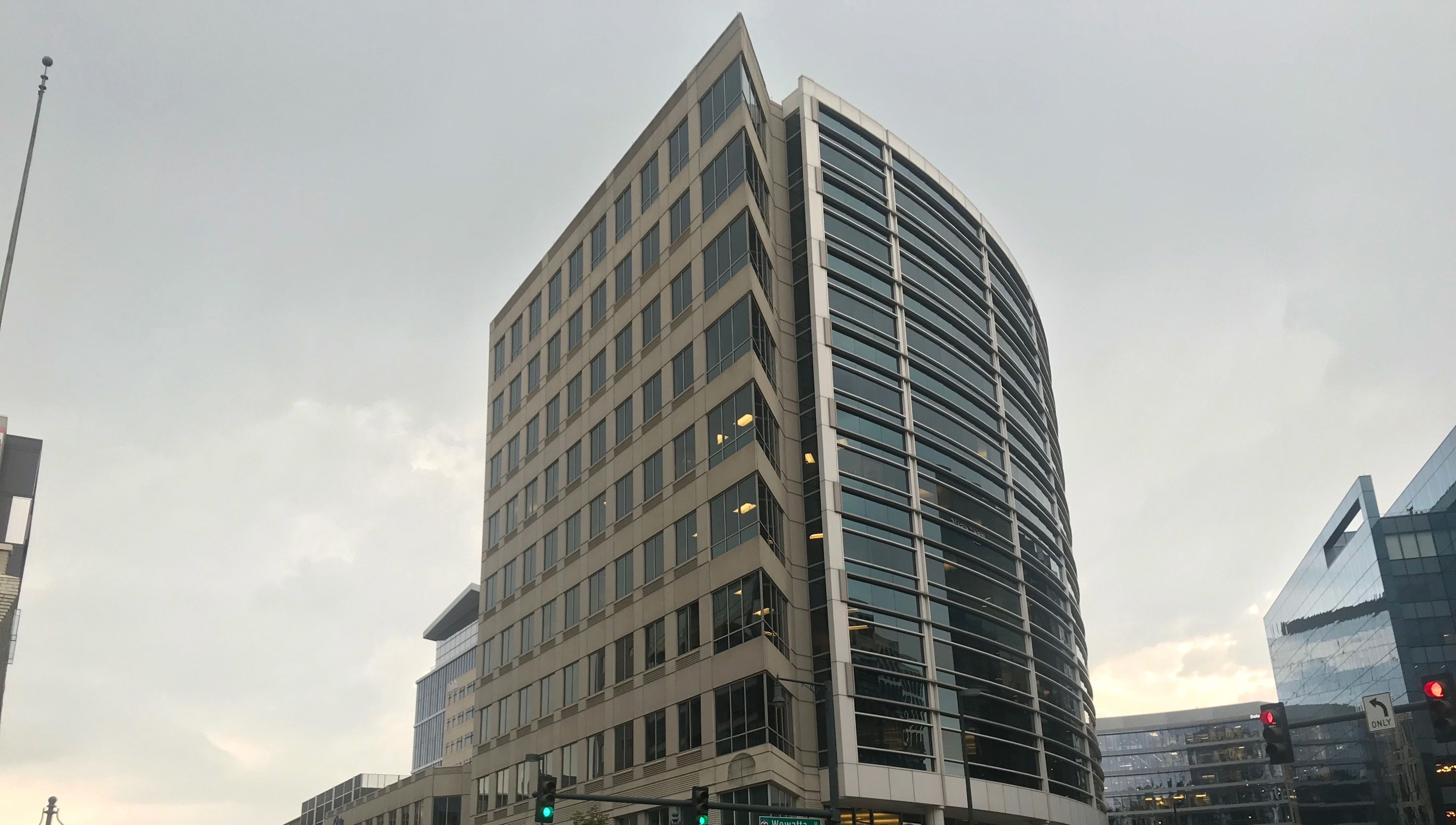 VF Corp. is interested in 1551 Wewatta St. as its possible future  headquarters. (Photo: Kate Tracy)