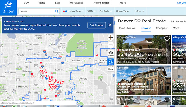 Zillow begins making cash offers for Denver homes - BusinessDen on